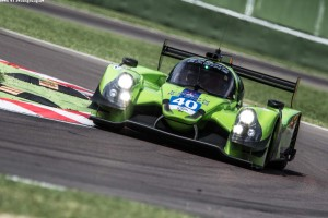 Car #40 / KROHN RACING (USA) / Ligier JSP2 - Nissan / Tracy Krohn (USA) / Niclas Jonsson (SWE) / Oswaldo Negri Jr (BRA)  - ELMS 4 Hours of Imola at Autodromo International Enzo e Dino Ferrari Imola - Imola - Italy