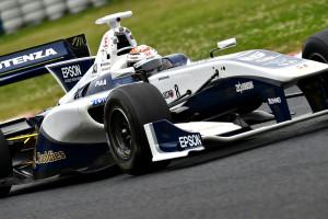 Super Formula Okayama 2015 Bertrand Baguette