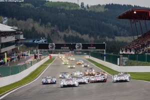 Race Start - FIA WEC 6 hours of Spa-Francorchamps at Stavelot - Route du Circuit - Belgium
