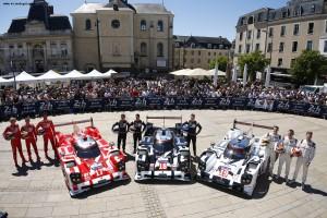 Porsche Team, Le Mans 2015