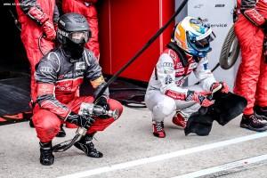 Audi Pit Stop - Le Mans 24 Hours at Circuit Des 24 Heures - Le Mans - France