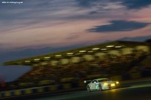 Car #97 / ASTON MARTIN RACING (GBR) / ASTON MARTIN VANTAGE V8 / Darren TURNER (GBR) / Stefan M†CKE (DEU) / Rob BELL (GBR) - Le Mans 24 Hours at Circuit Des 24 Heures - Le Mans - France