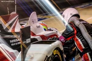 Car #38 / JOTA SPORT (GBR) / GIBSON 015S - NISSAN / Simon DOLAN (GBR) / Mitch EVANS (NZL) / Oliver TURVEY (GBR) - Le Mans 24 Hours at Circuit Des 24 Heures - Le Mans - France