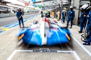 Car #37 / SMP RACING (RUS) / BR01 - NISSAN / Mikhail ALESHIN (RUS) / Kirill LADYGIN (RUS) / Anton LADYGIN (RUS) - Le Mans 24 Hours at Circuit Des 24 Heures - Le Mans - France