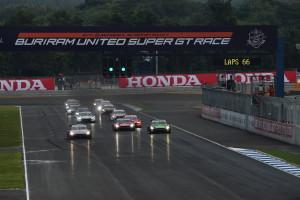 Super GT Buriram Thailand 2014 GT500 Start