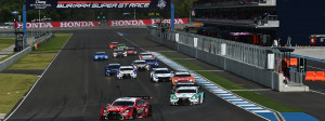 Super GT Thailand 2015 GT500 Start Top
