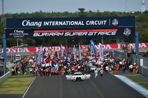 Super GT Thailand 2015 Grid