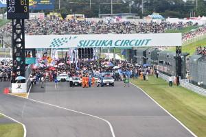 Super GT Suzuka 2014 Grid