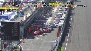 Super GT Sugo 2015 Pitstop Chaos