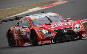 Super GT Fuji Pre-Season Test 2016 Zent Cerumo RC F