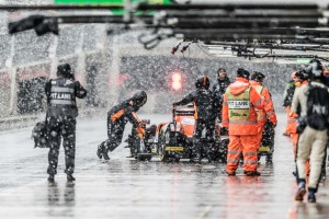 Wet Weather - Silverstone Circuit - Towcester, Northamptonshire - UK