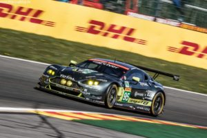 Car # 95 / ASTON MARTIN RACING / GBR / Aston Martin Vantage / Nicki Thiim (DNK) / Marco S¿rensen (DNK) / Darren Turner (GBR) - WEC 6 Hours of Spa - Circuit de Spa-Francorchamps - Spa - Belgium