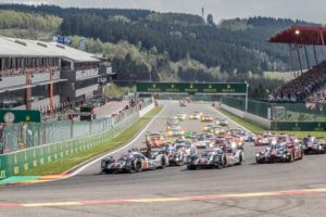 Race Start at the WEC 6 Hours of Spa - Circuit de Spa-Francorchamps - Spa - Belgium