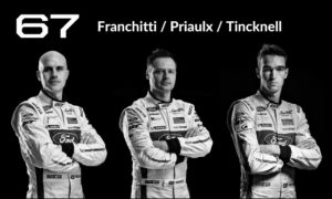 Le Mans #67 Franchitti/Priaulx/Tincknell