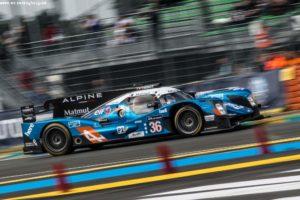 #36 SIGNATECH ALPINE (FRA) / DUNLOP / ALPINE A460 - NISSAN / Gustavo MENEZES (USA) / Nicolas LAPIERRE (FRA) / Stéphane RICHELMI (MCO)Le Mans 24 Hour - Circuit des 24H du Mans  - Le Mans - France