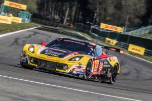 Car # 50 / LARBRE COMPETITION / FRA / Chevrolet Corvette C7 / Yutaka Yamagishi (JPN) / Pierre Ragues (FRA) / Paolo Ruberti (ITA) - WEC 6 Hours of Spa - Circuit de Spa-Francorchamps - Spa - Belgium